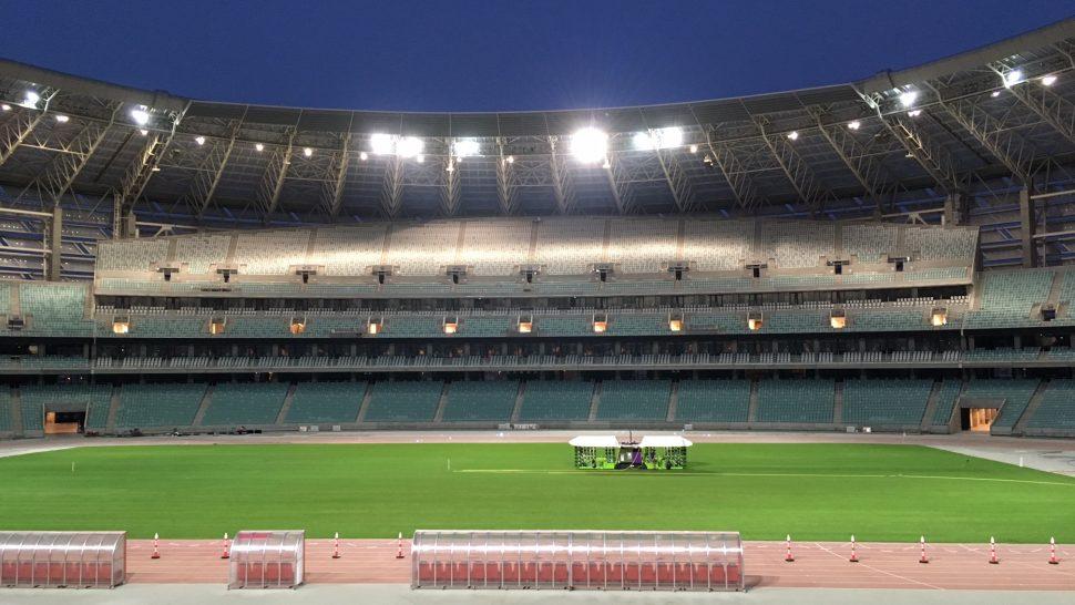 Bakus Olympiastadion Azerbajdzjan